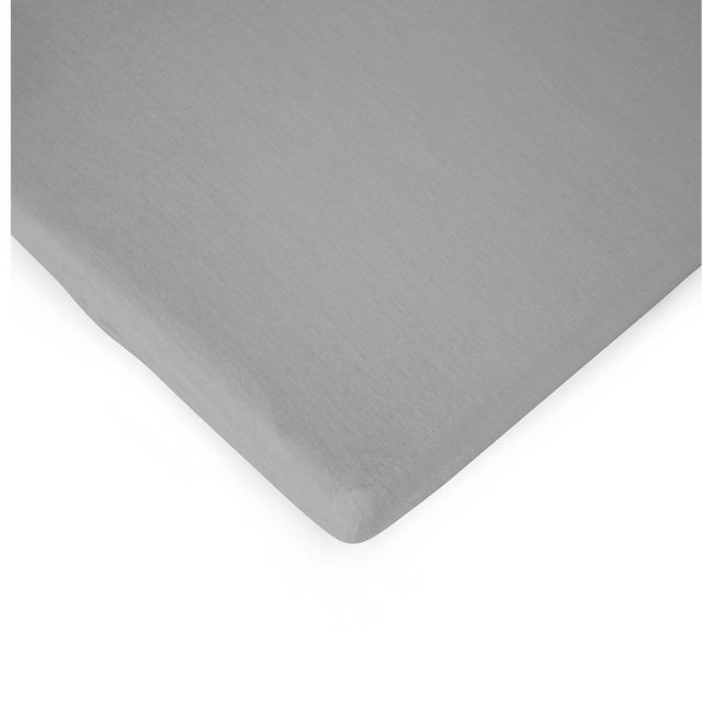 Childhome - Bed Fitted Sheet 70X140cm -  Jersey Grey