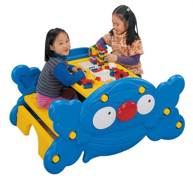 Ching Ching - Clown Seesaw & Bee Table - Blue