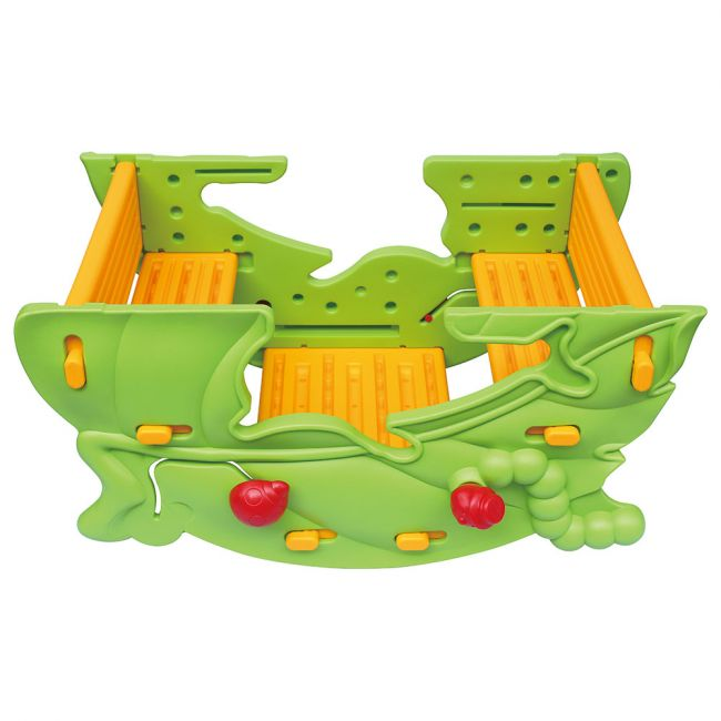 Ching Ching - Dolphin Seesaw & Leaf Table - Green