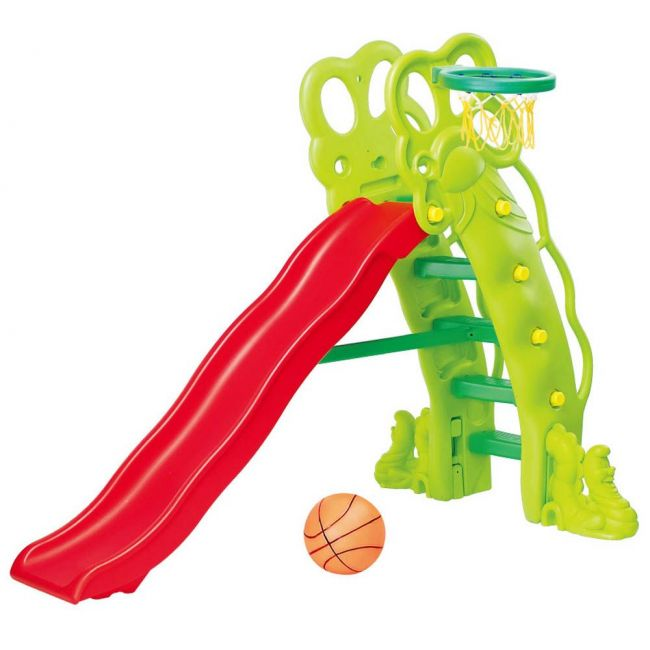 Ching Ching - High Pea-Shapped Slide With 180cm Slider