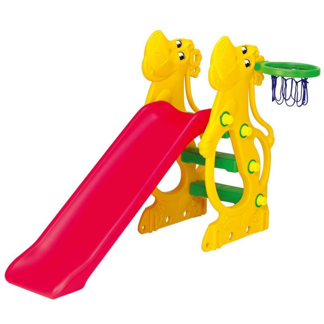 Ching Ching - Hippo Slide With 137cm Slider