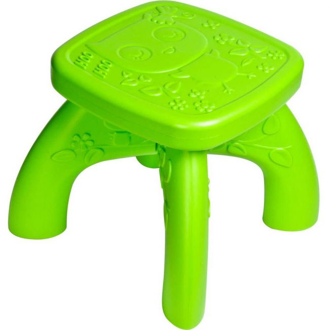 Ching Ching - Owl Kid's Chair - Green