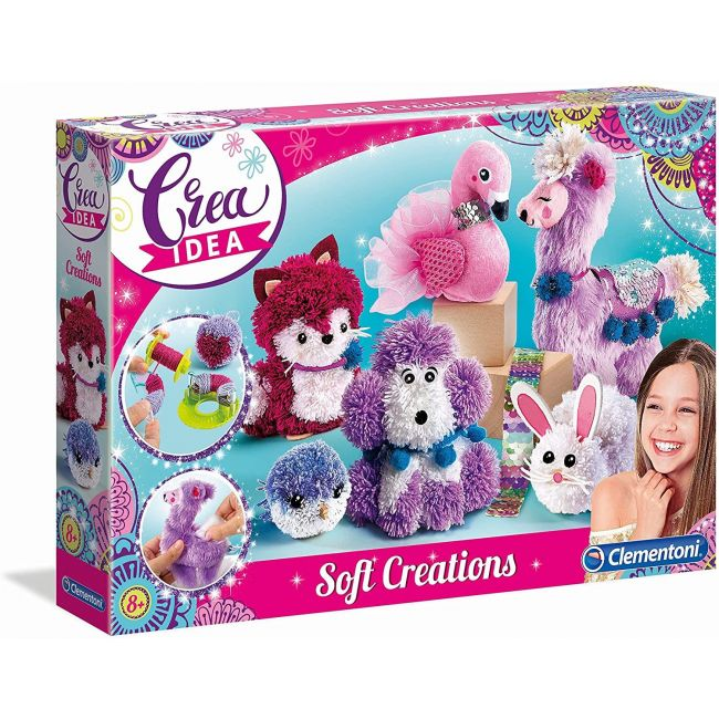 Clementoni - Create Idea - Soft Creations (Int)