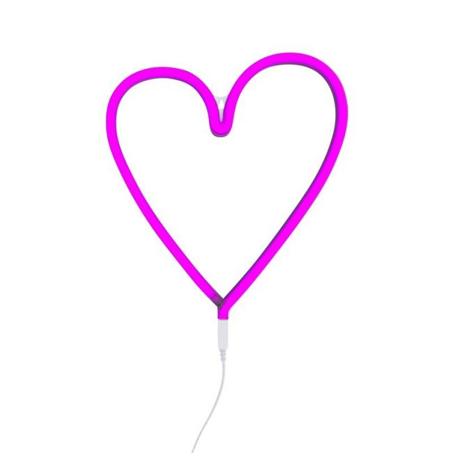 A Little Lovely Company - Heart Neon - Pink