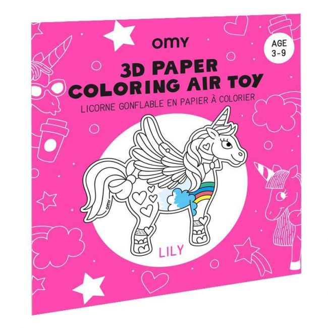 OMY - 3D Air Toy - Lily