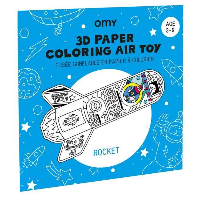OMY - 3D Air Toy - Rocket