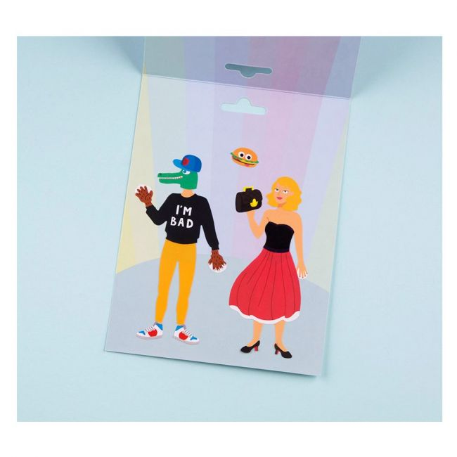 Omy Creative Kit Fashion Stickers