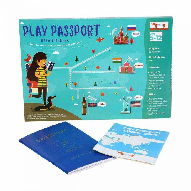 Cocomoco kids - Play Passport Kit