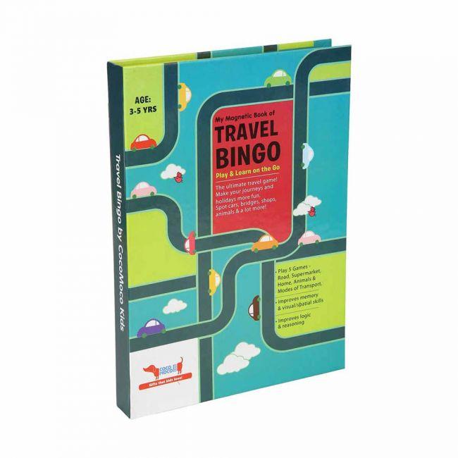 Cocomoco kids - Travel Bingo Kids Activity Book