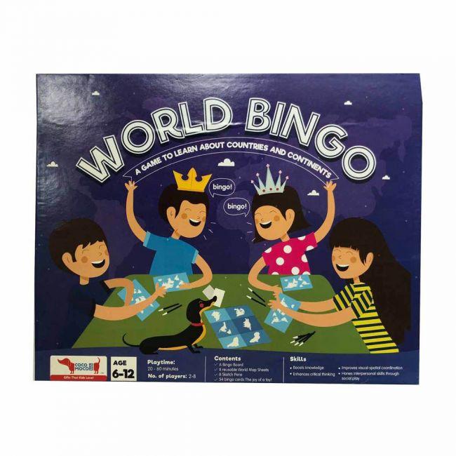 Cocomoco kids - World Bingo