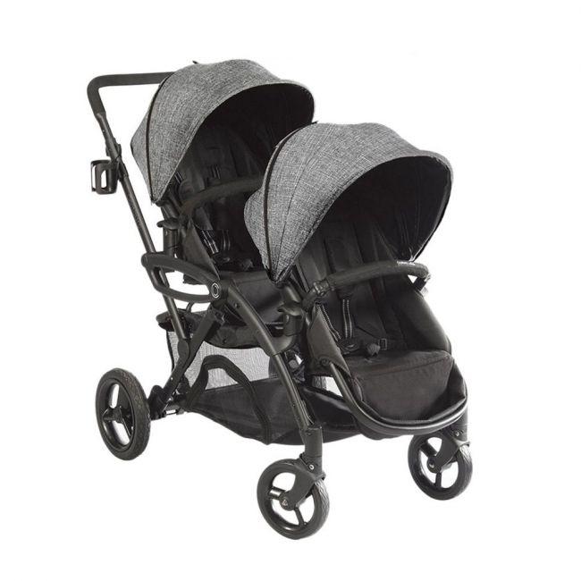Kolkraft Contours Options Elite Tandem Stroller -  Graphite