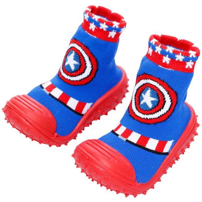 COOL GRIP Baby Shoe Socks Captain America