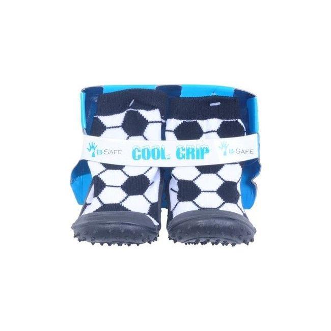 Cool Grip Black Baby Shoe Socks Soccer Ball