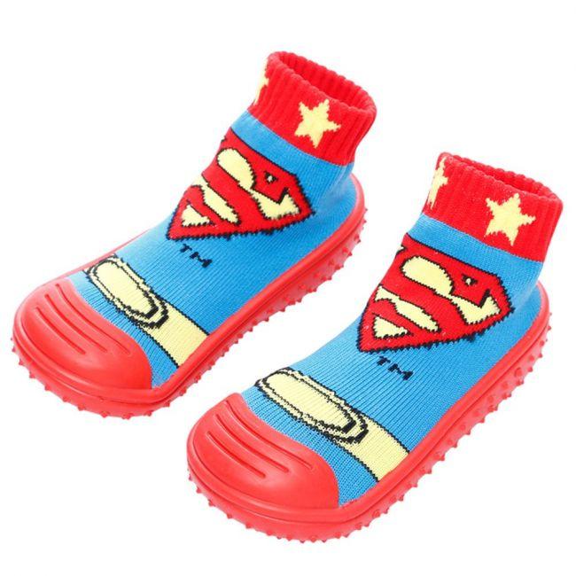 COOL GRIP Baby Shoe Socks Superman