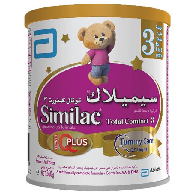 Similac Total Comfort 3 Growing Up Formula Milk 360G From 1-3 Years Old