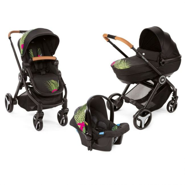 Chicco Trio Best Friend Comfort Special Edition,  Optical Jungle