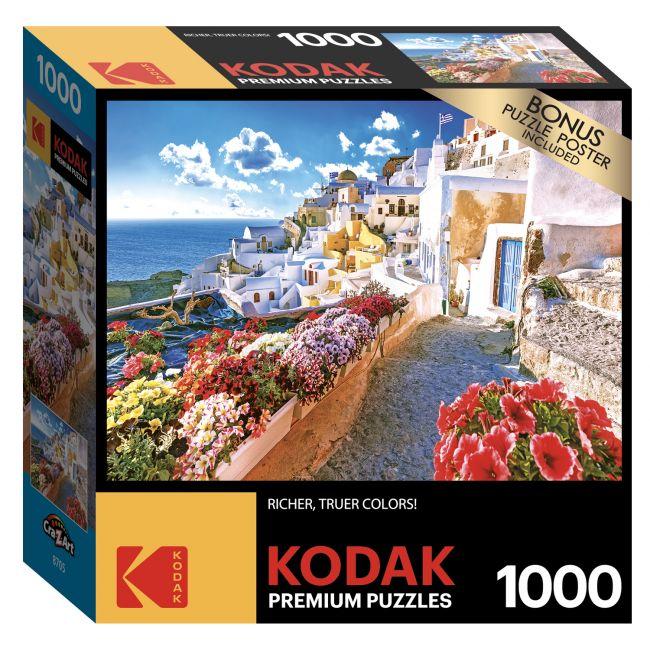 Cra-Z-Art - Kodak 1000 Pieces Puzzle Asst. Oia Village, Santorini, Greece