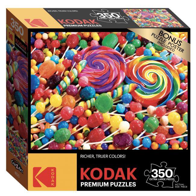 Cra-Z-Art - Kodak 350 Pieces Puzzle Asst. Lollipop Swirls