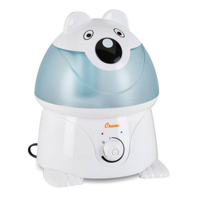 Crane Blue Adorable Ultrasonic Cool Mist Humidifier Chauncey the Polar Bear