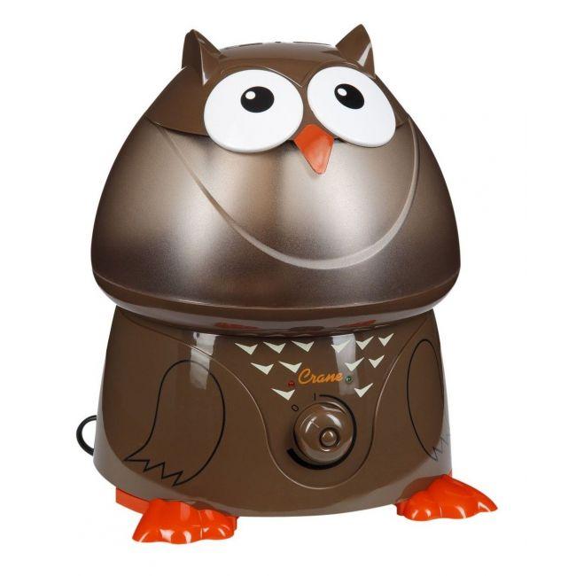 Crane Brown Adorable Ultrasonic Cool Mist Humidifier Oscar the Owl