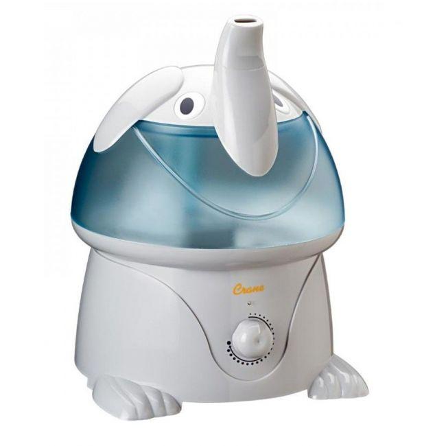 Crane Blue Ultrasonic Cool Mist Humidifier The Elephant