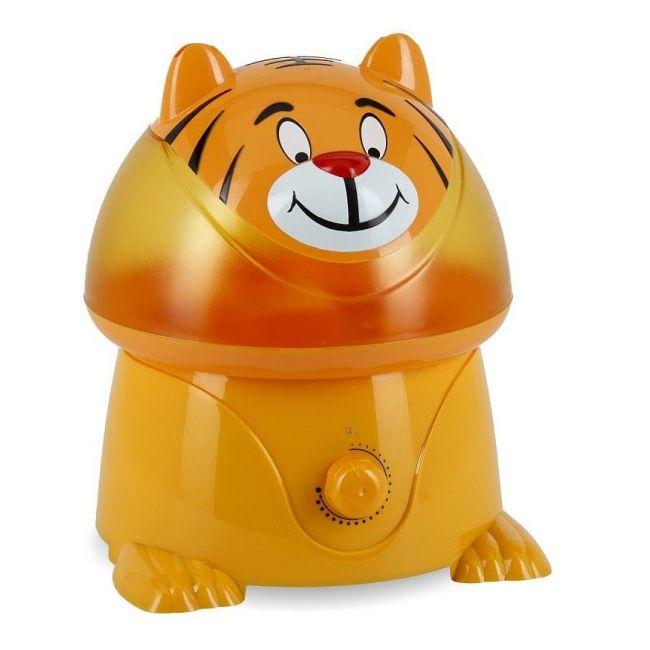 Crane Orange Ultrasonic Cool Mist Humidifier Timmy the Tiger