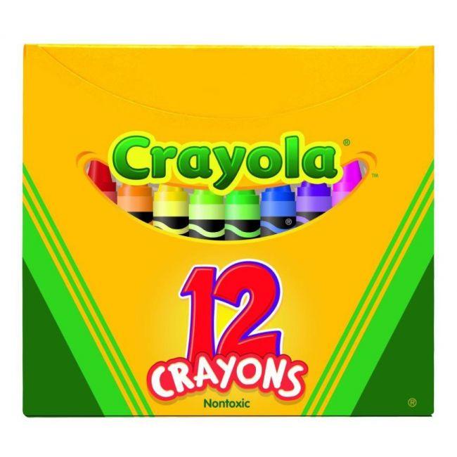 Crayola - 12 Ct. Crayons Tuck Box
