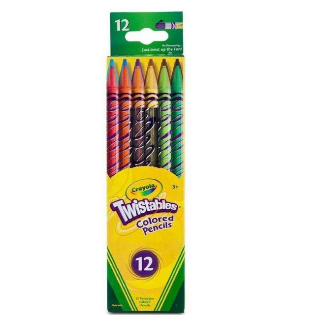Crayola - 12 Ct. Twistables Colored Pencils