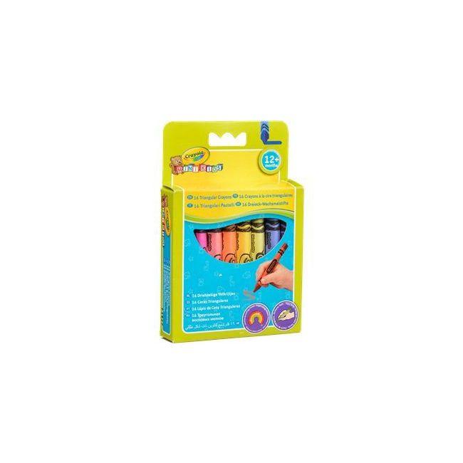 Crayola - 16 Triangular Crayons