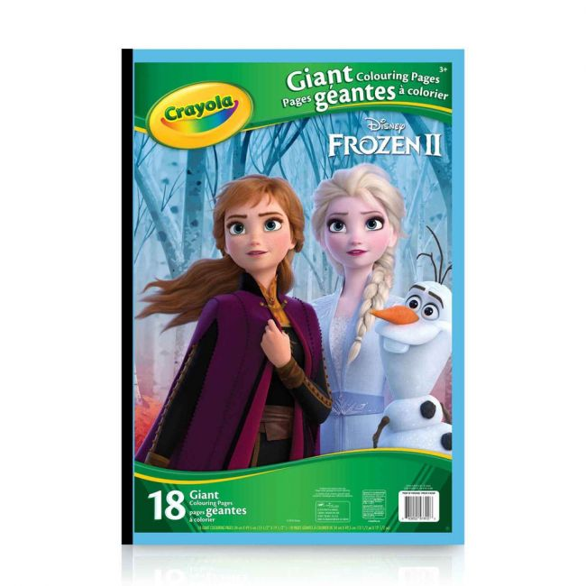 Crayola - 18 Gaint Coloring Pages Frozen 2