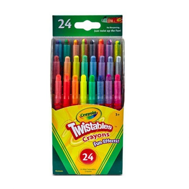 Crayola - 24 Ct. Twistables Fun Effects Crayons