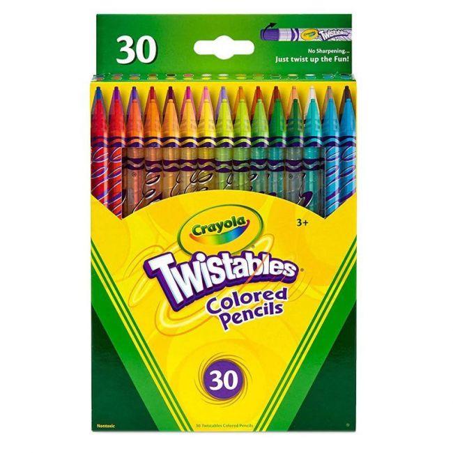 Crayola - 30 Ct. Twistables Colored Pencils