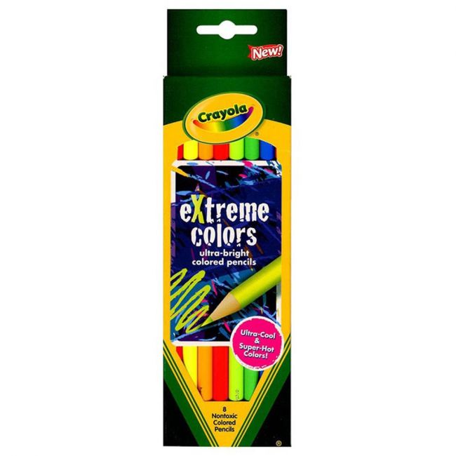 Crayola - 8 Ct. Extreme Colors Pencils