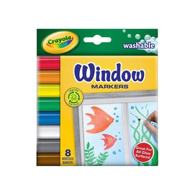 Crayola - 8 Window Markers