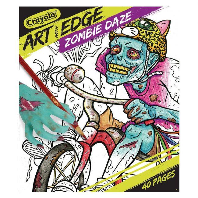 Crayola - Art With Edge Zombie Daze Book