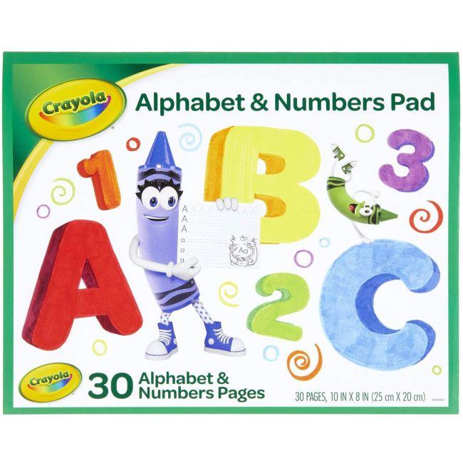 Crayola - Beginning Abc Tablet Book