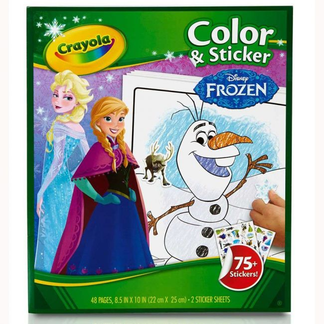 Crayola - Color And Sticker Frozen