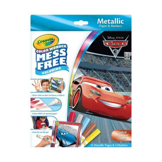 Crayola - Color Wonder Metallic Box Set Cars 3