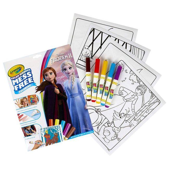 Crayola - Color Wonder Over Wrap Frozen 2