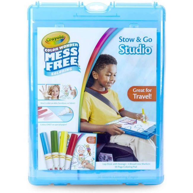 Crayola - Color Wonder Stow Go Studio