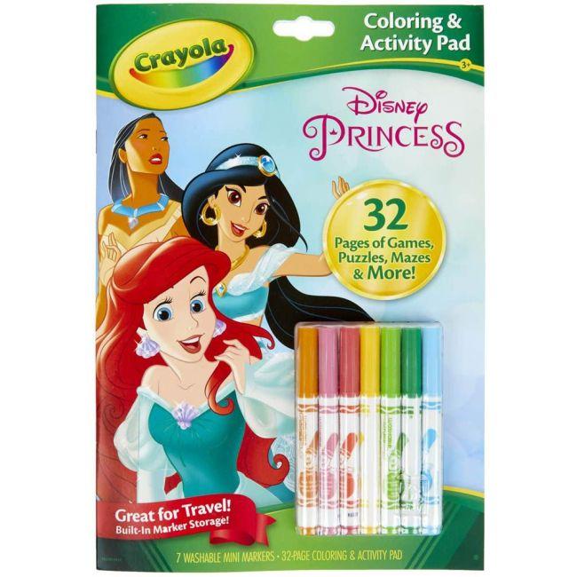 Crayola - Coloring Activity Pad Disney Princess
