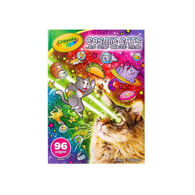 Crayola - Cosmic Cats Coloring Book