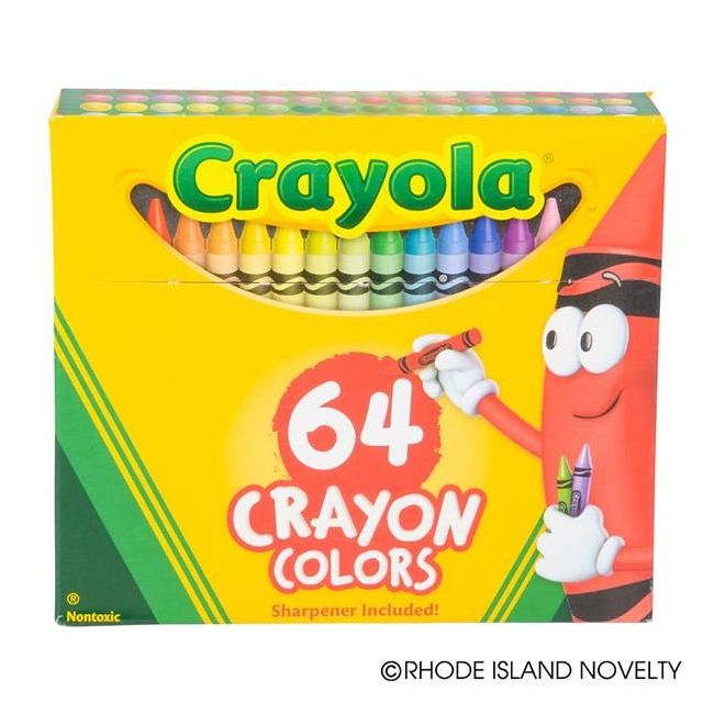 Crayola - Crayons Non Peggable Pack Of 64