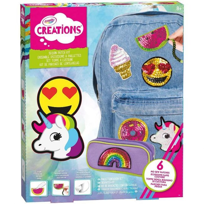 Crayola - Creations Sequin Patch Kit