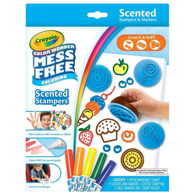 Crayola - Cw Scented Stampers