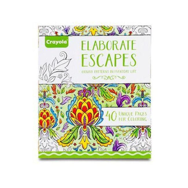 Crayola - Elaborate Escapes Coloring Books