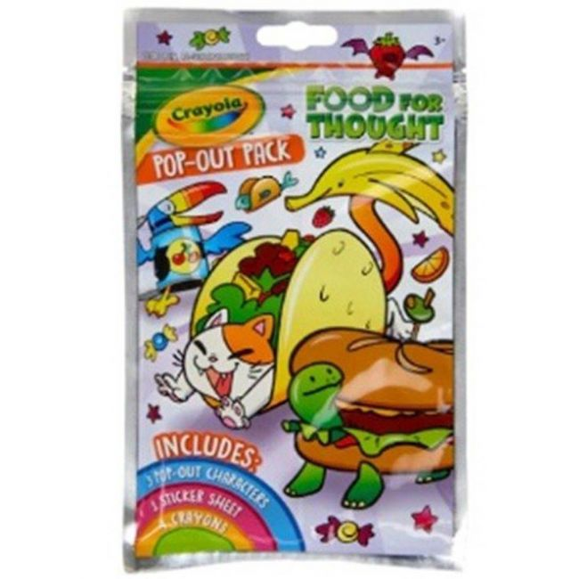 Crayola - Food For Thought Pop Out Pack