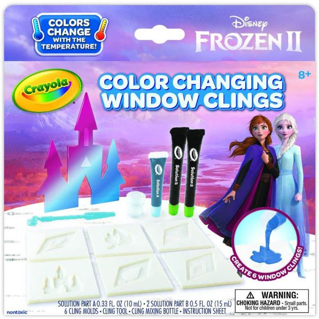 Crayola - Frozen 2 Snow Flake Window Clings