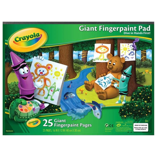 Crayola - Giant Fingerpaint Paper