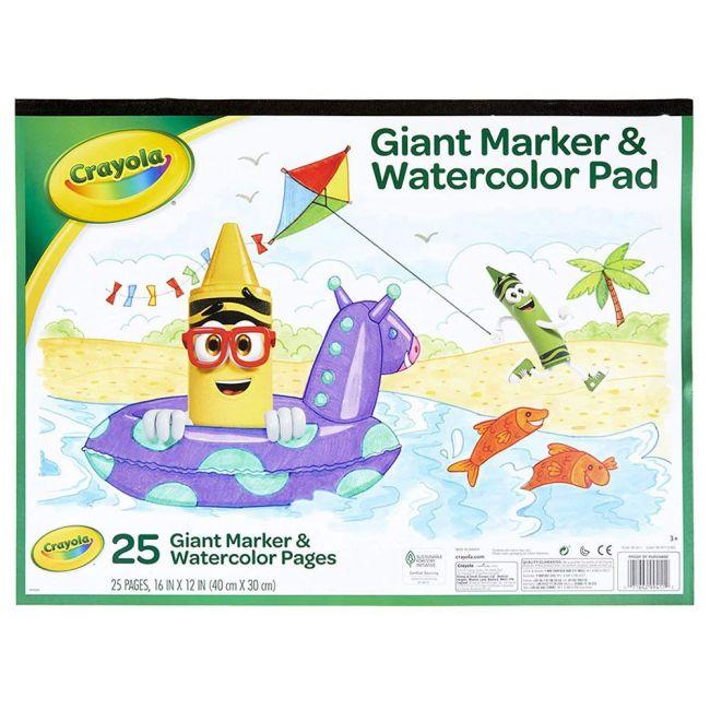 Crayola - Giant Marker-Watercolor Pad